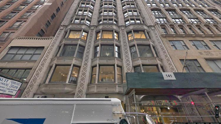 rent office 141 west 36th street