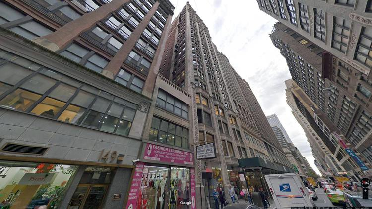 lease office 141 west 36th street