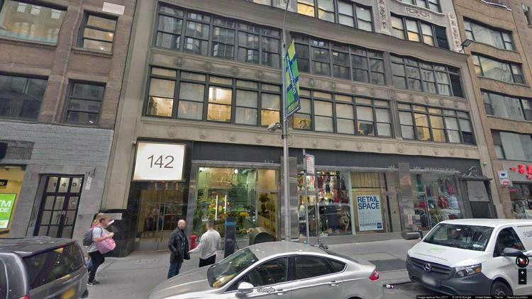 rent office 142-148 west 36th street