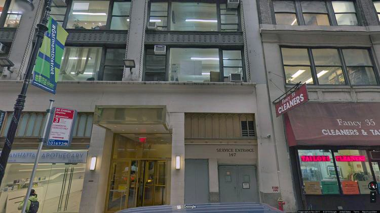 rent office 147 west 35th street