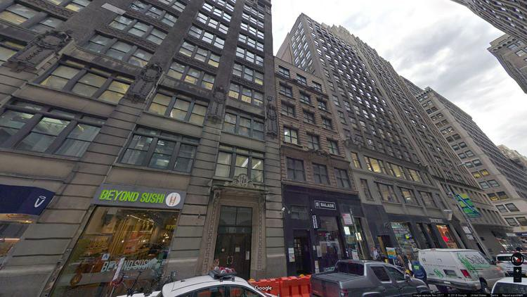 lease office 148 west 37th street