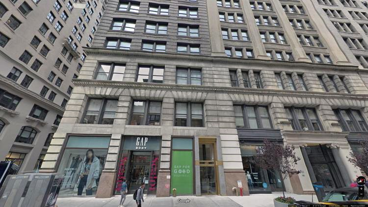 lease office 15-17 west 18th street