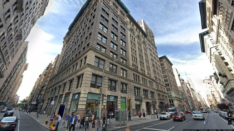 rent office 15-17 west 18th street