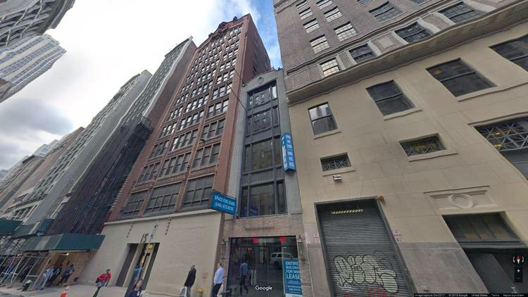 lease office 15-17 west 38th street