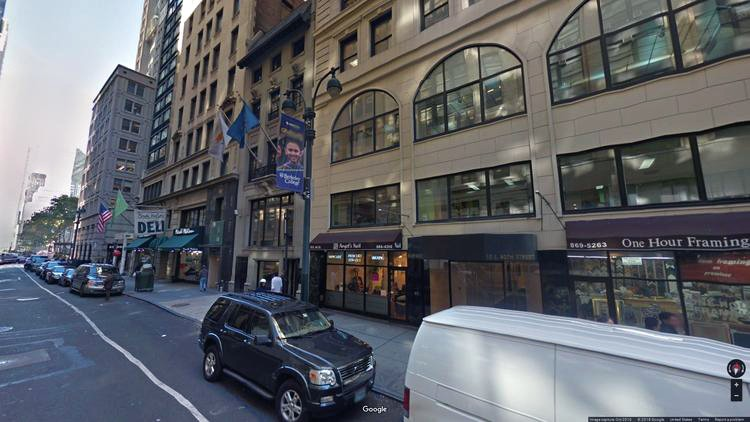 lease office 15 east 40th street