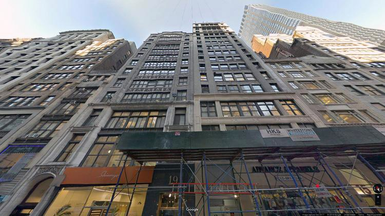 let office 15 west 36th street