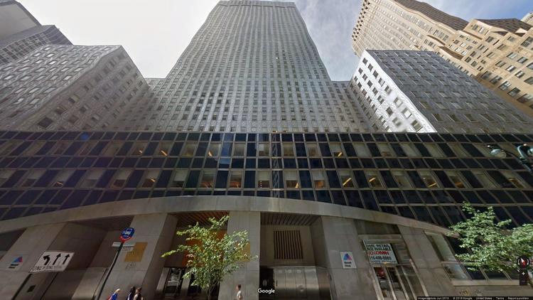 lease office 150 east 42nd street
