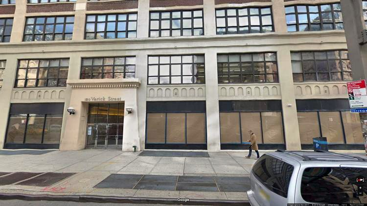 rent office 150 varick street