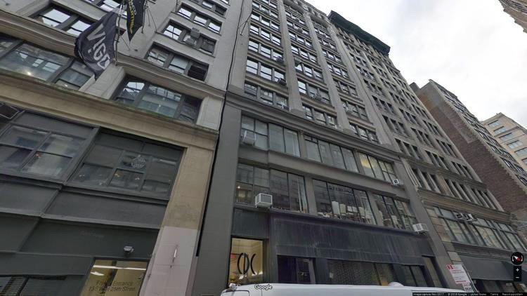 lease office 150 west 25th street