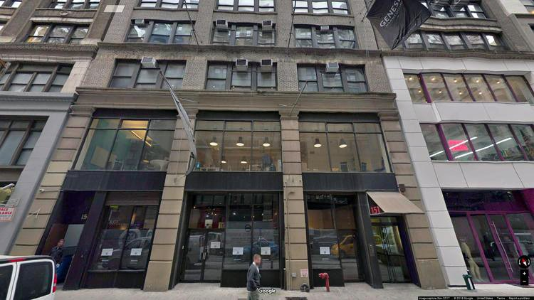 rent office 151 west 25th street