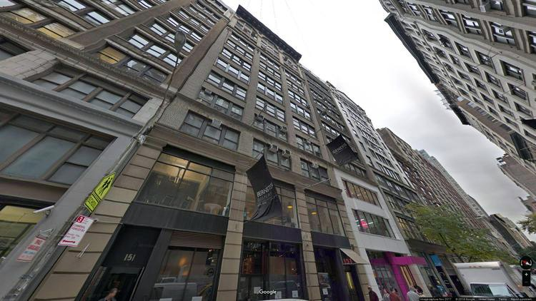 lease office 151 west 25th street