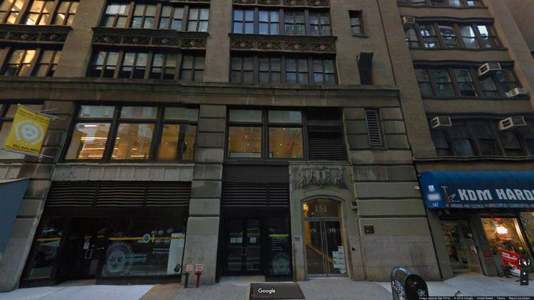 rent office 151 west 26th street
