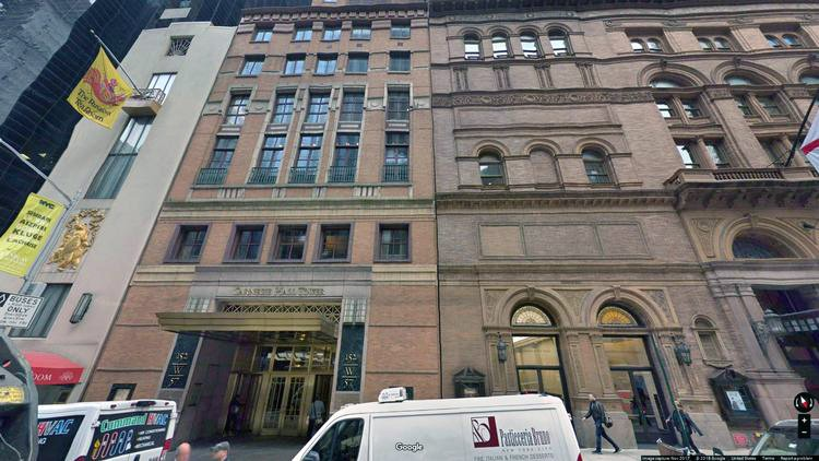 lease office 152 west 57th street