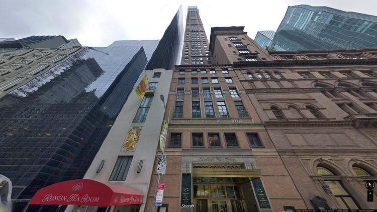 rent office 152 west 57th street