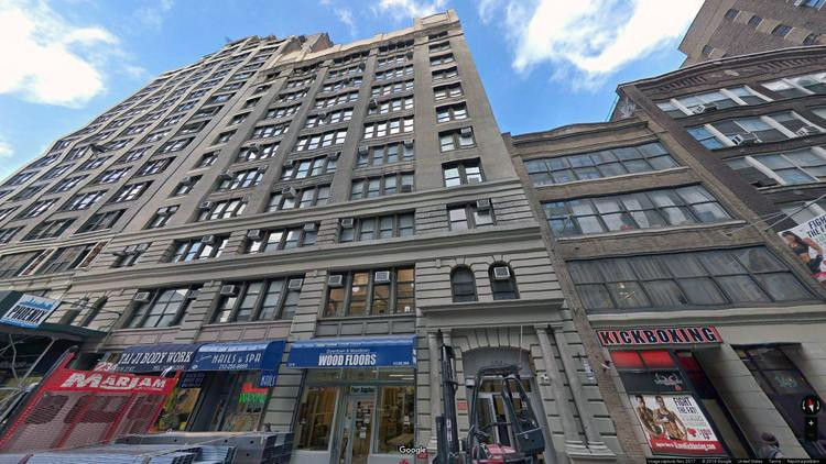 lease office 153 west 27th street