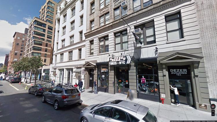 lease office 155 west 19th street