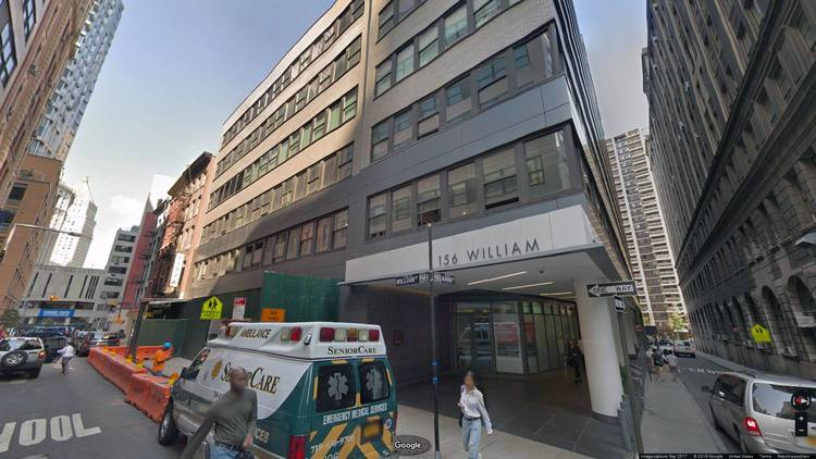 let office 156 william street