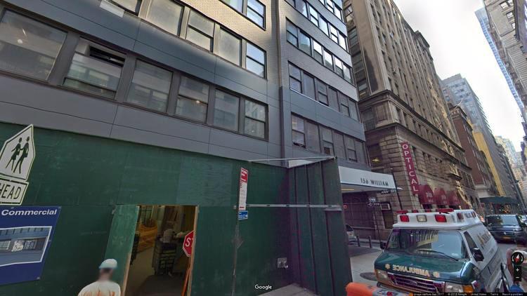 lease office 156 william street
