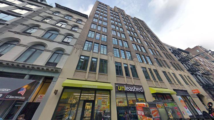 lease office 157 chambers street
