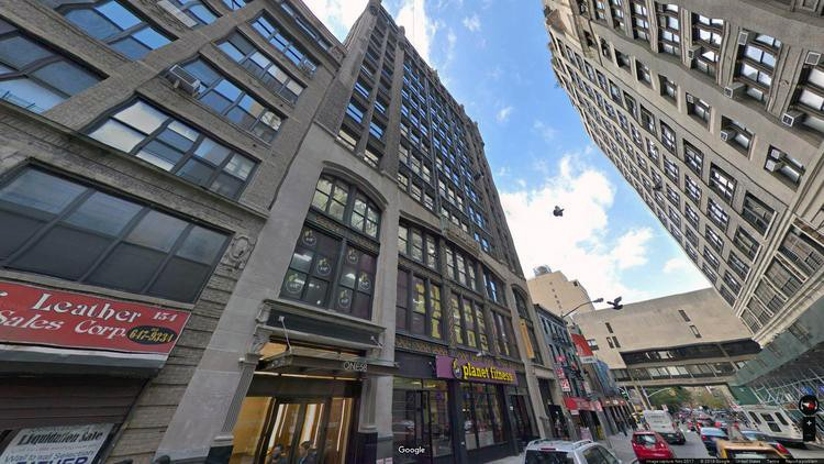 lease office 158 west 27th street