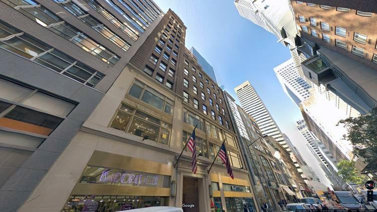 lease office 16 east 52nd street