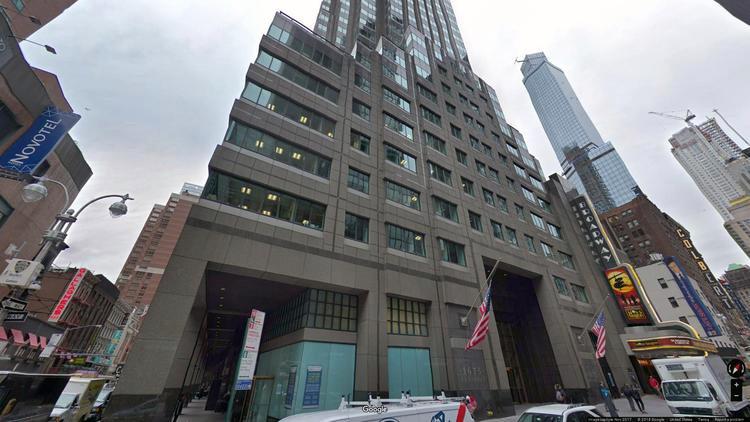 lease office 1675 broadway