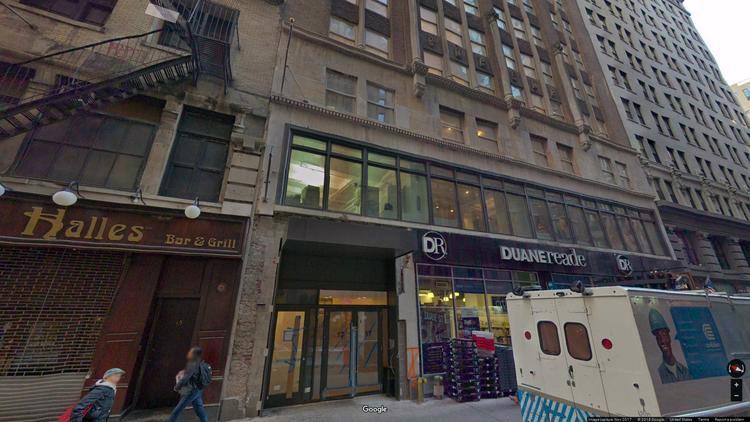 let office 17 john street