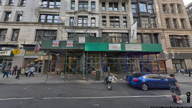 rent office 18 east 17th street