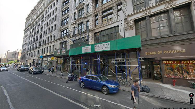 lease office 18 east 17th street