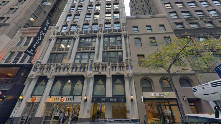 rent office 18 east 41st street