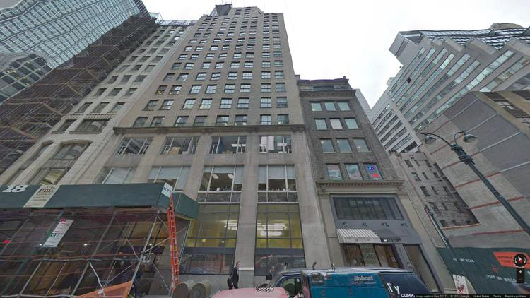 lease office 18 east 48th street