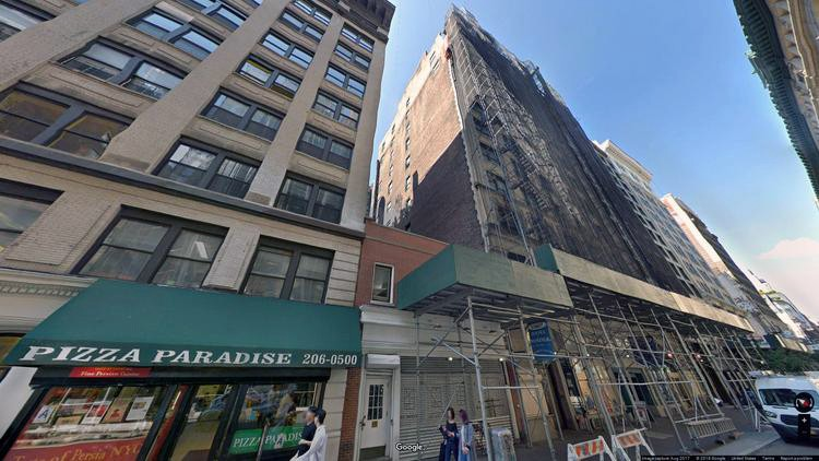 lease office 18 west 18th street