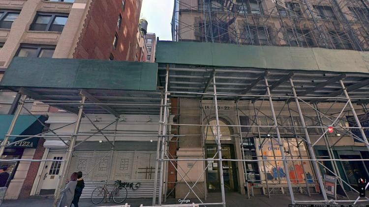 rent office 18 west 18th street