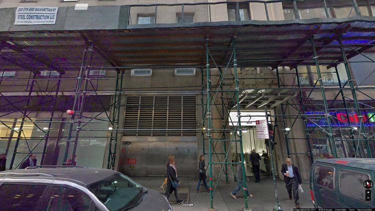 rent office 2 west 45th street