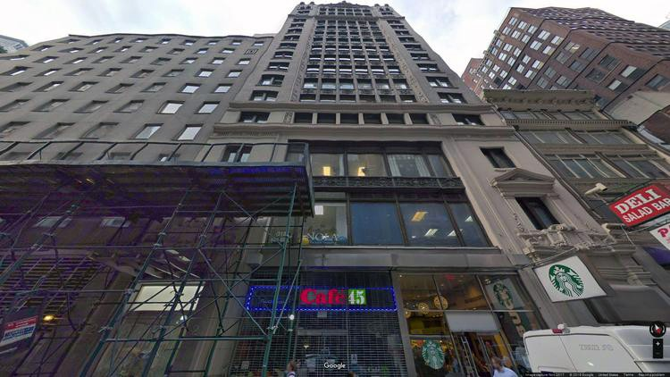 lease office 2 west 45th street