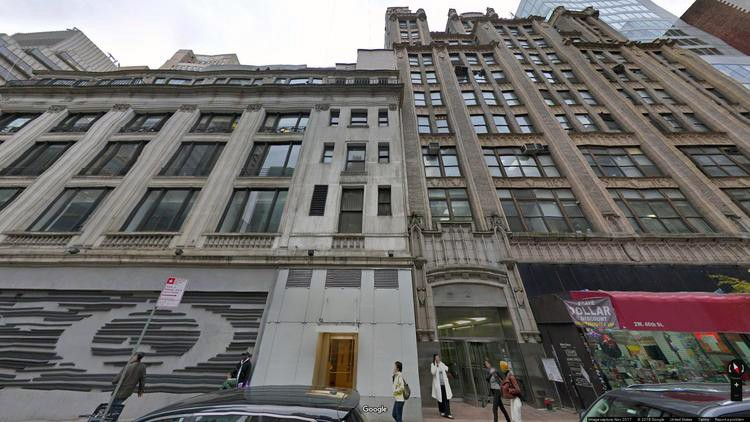lease office 2 west 46th street