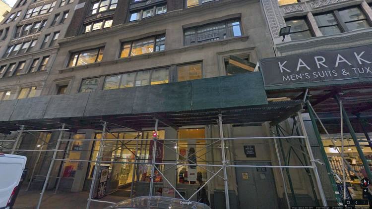rent office 20 west 36th street