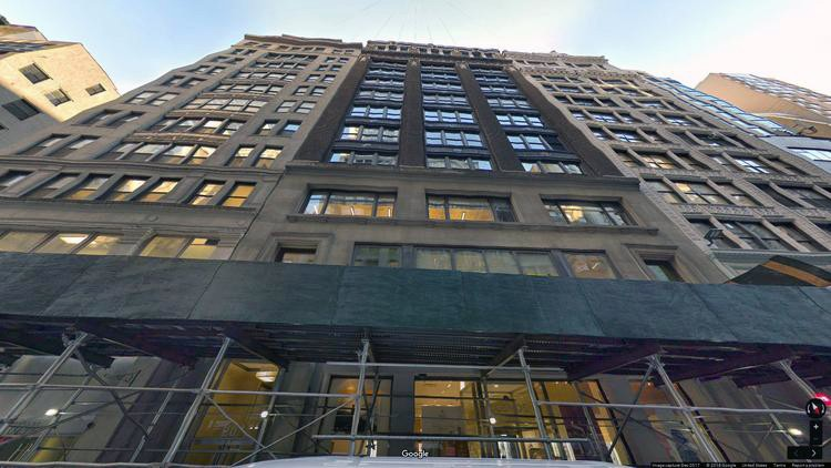 lease office 20 west 36th street