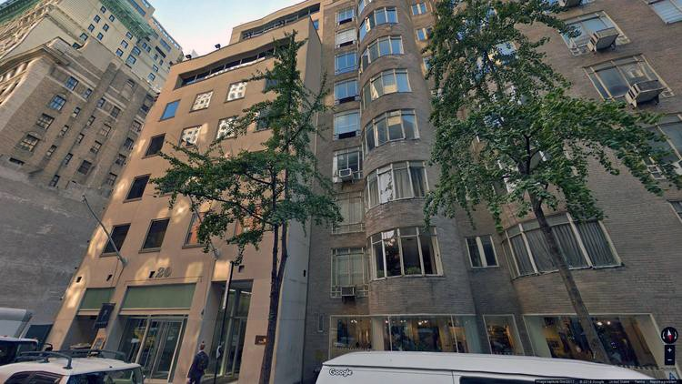 rent office 20 west 55th street