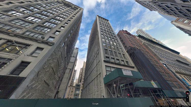 lease office 21 west 38th street