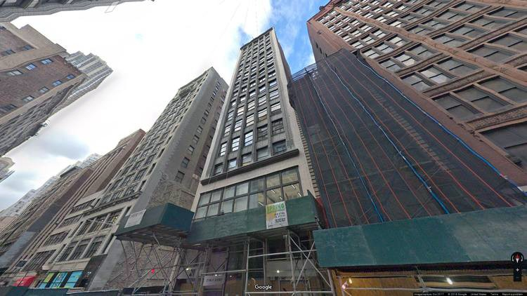 let office 21 west 38th street