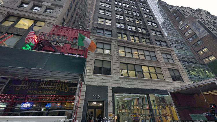 rent office 212-216 west 35th street