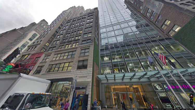 lease office 212-216 west 35th street