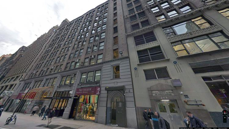 lease office 213 west 35th street