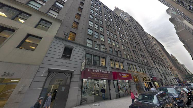 rent office 213 west 35th street