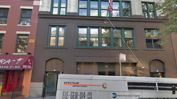 lease office 214-216 west 14th street