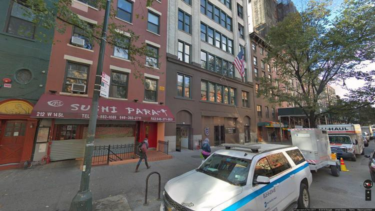 rent office 214-216 west 14th street