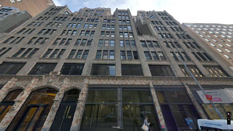 lease office 214 west 29th street