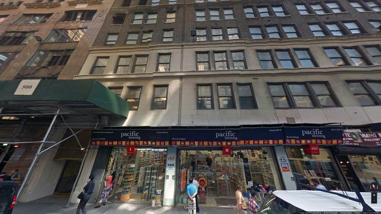 rent office 214 west 38th street