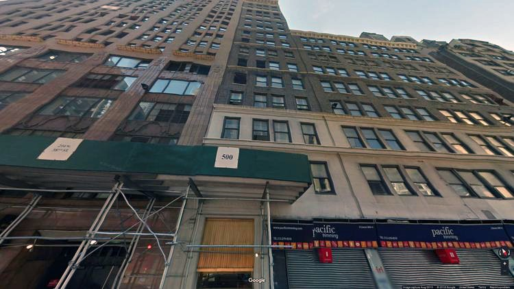 lease office 214 west 38th street
